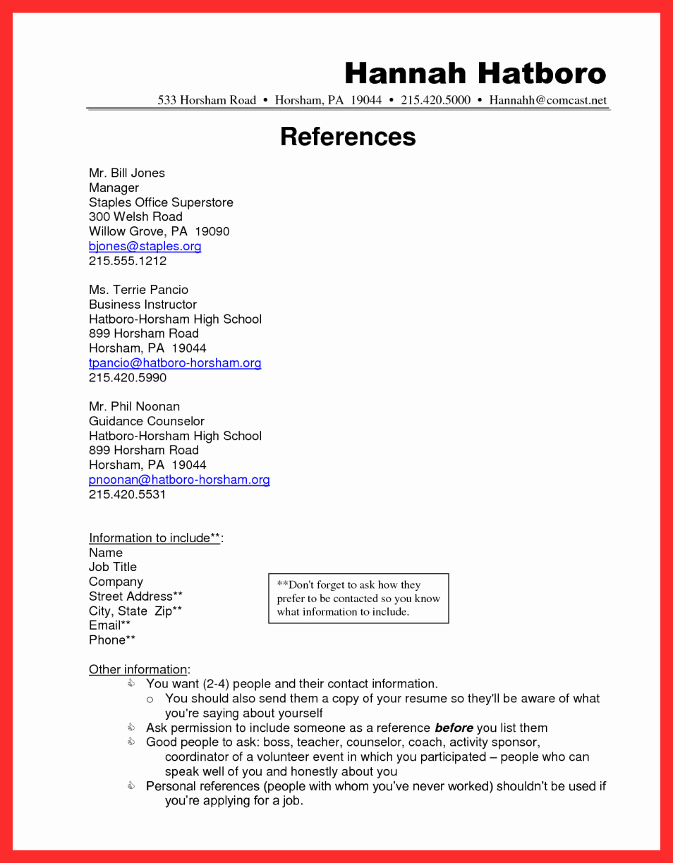 Reference List Template Microsoft Word Fresh Apa Resume Template