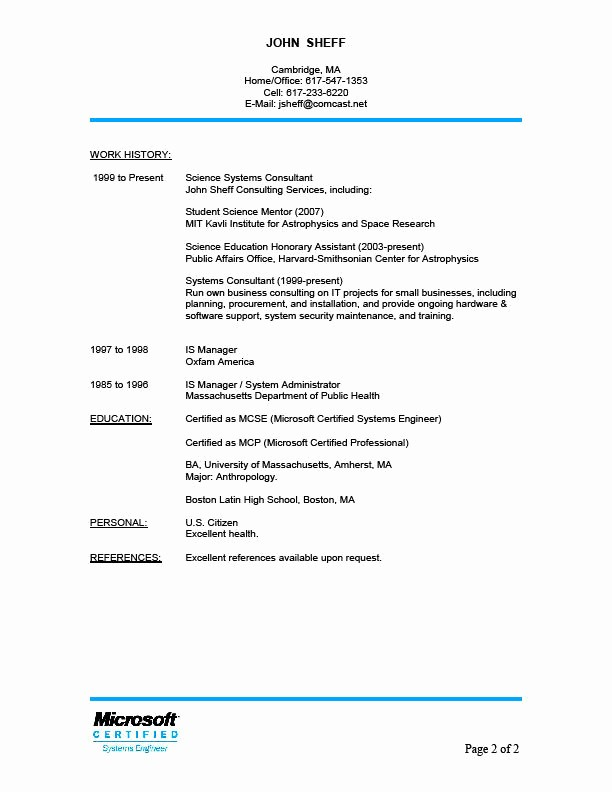Reference List Template Microsoft Word Lovely Resume References Template