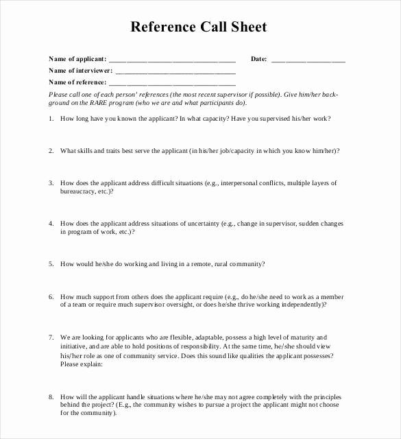Reference Sheet for Resume Template Elegant 10 Reference Sheet Templates