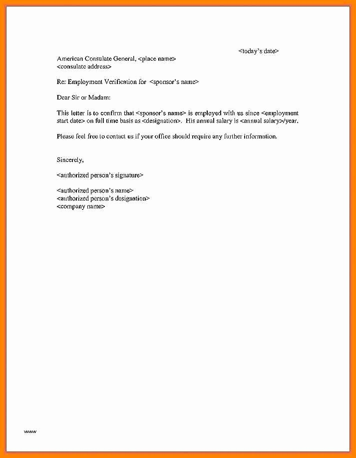 Referral Letter Sample for Employment Beautiful 9 Employment Referral Letter