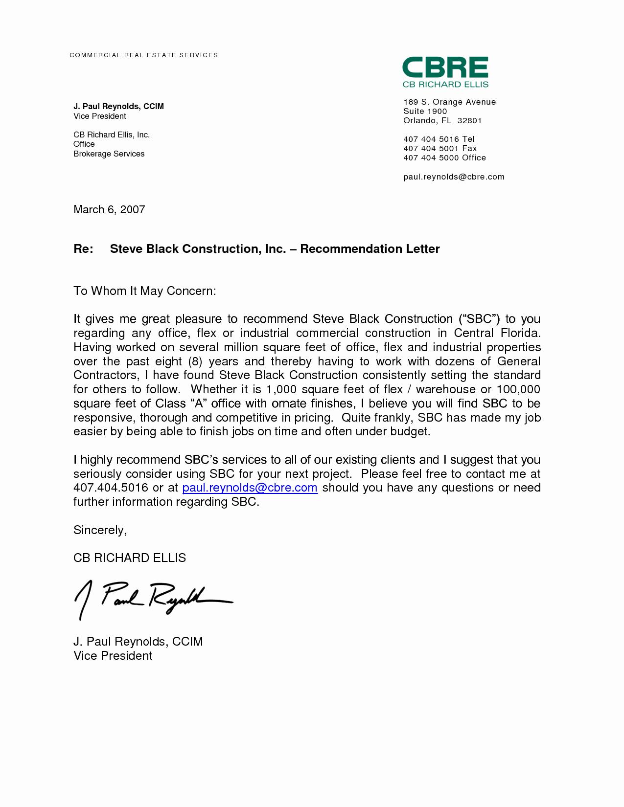 Referral Letter Sample for Employment Fresh Reference Letter for A Job Best Letter