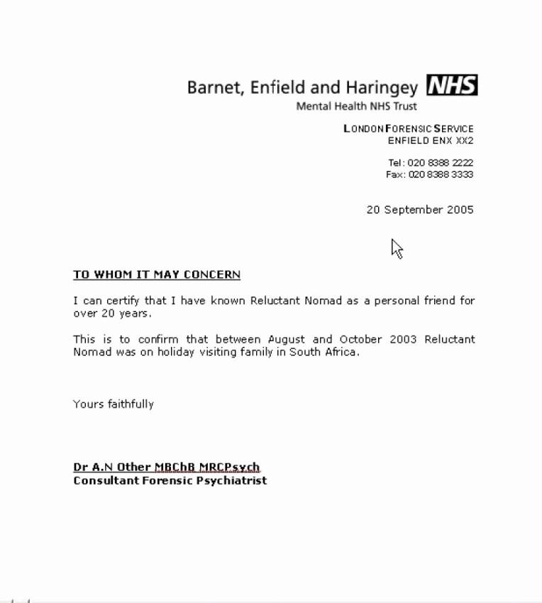 Referral Letter Sample for Employment New Sample Job Re Mendation Letter Friend