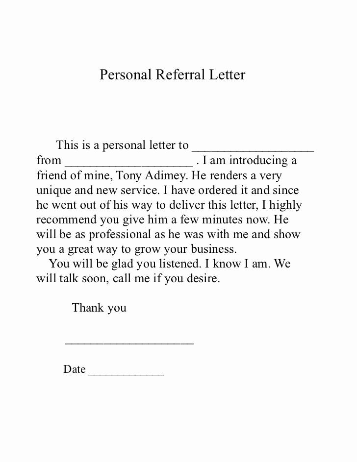 10 sample referral letters