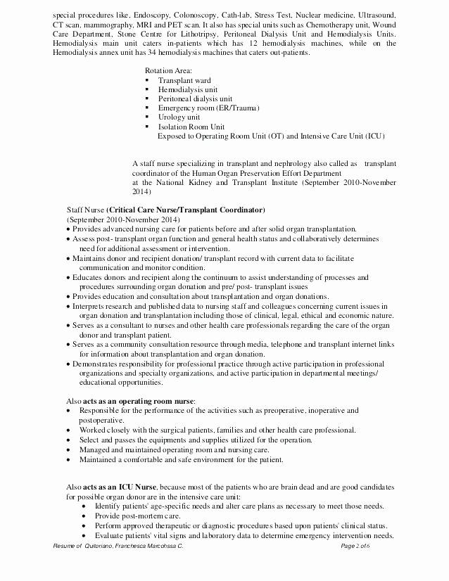 Registered Nurse Resume Template Word New Rn Resume Template Registered Nurse Resume Sample Download