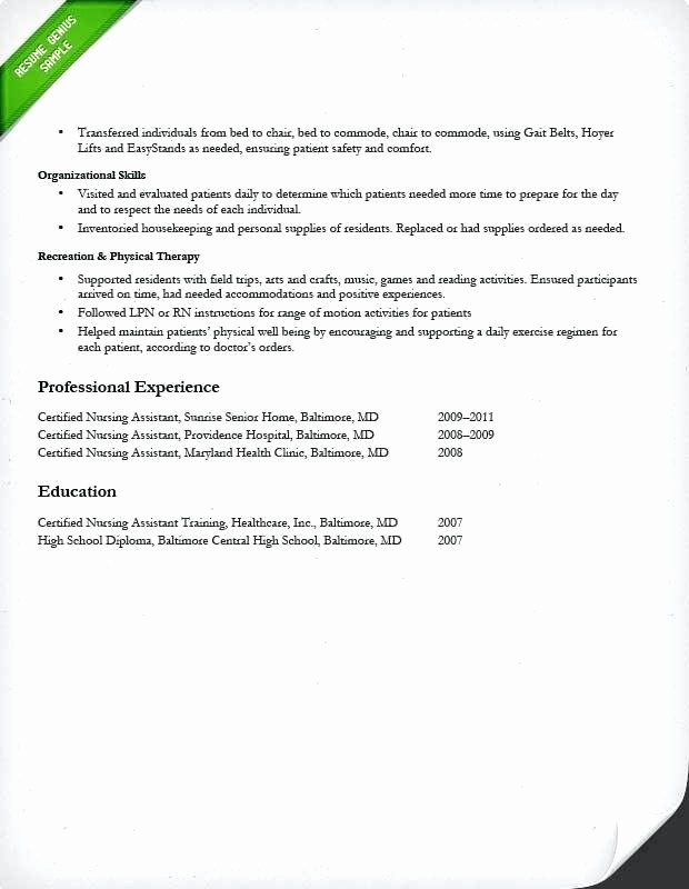 Registered Nurse Resume Template Word Unique Curriculum Vitae Example Registered Nurse Resume Template