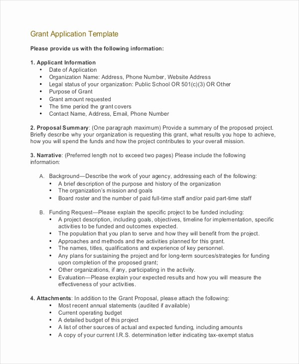 Request for Funds form Template Awesome Grant Application Templates 6 Free Word Pdf Download