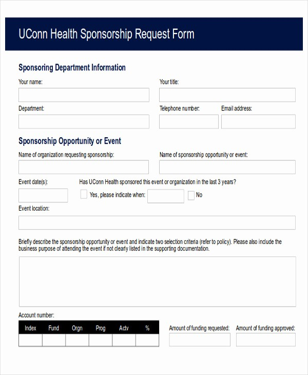 Request for Funds form Template Best Of 10 Sample Funding Request forms