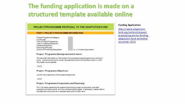 Request for Funds form Template Elegant Understanding the Review Criteria and Adaptation Fund