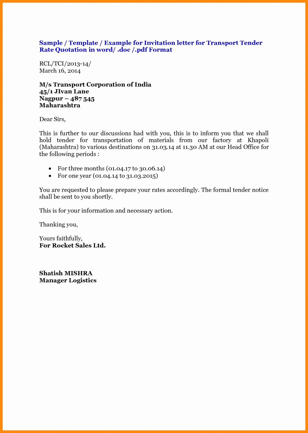 Request for Quote Template Word Luxury 7 Request for Quotation Email Sample