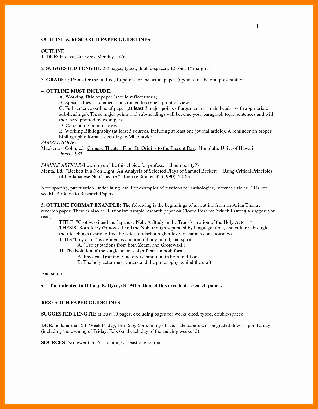 Research Paper In Mla format New Sample Pages A Research Paper In Mla Style