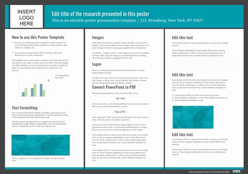 presentation poster templates