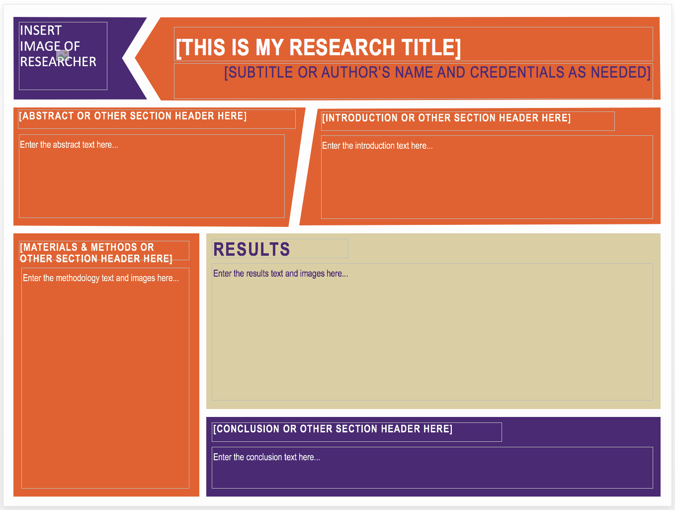 Research Poster Template for Powerpoint Best Of Research Posters