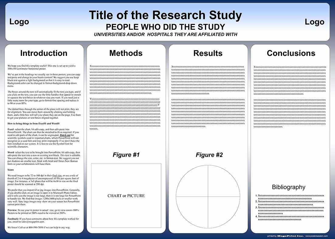 Research Poster Template for Powerpoint Fresh Free Powerpoint Scientific Research Poster Templates for