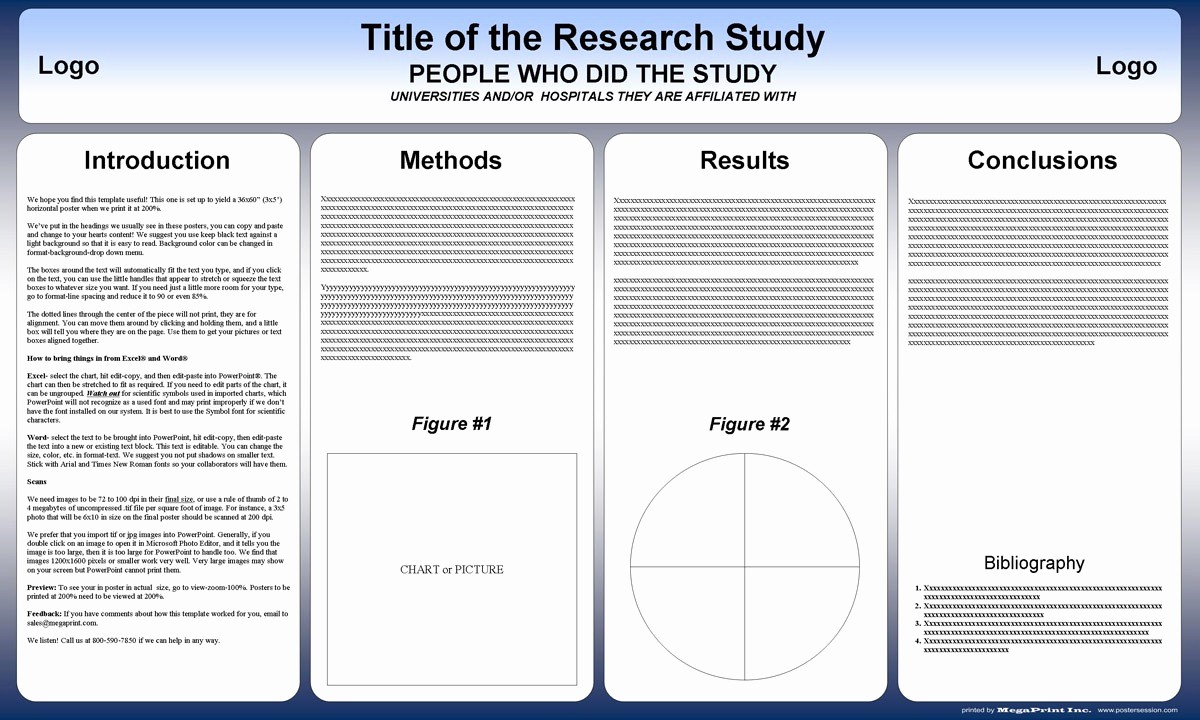 Research Poster Template for Powerpoint Inspirational Free Powerpoint Scientific Research Poster Templates for