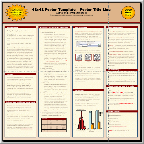 Research Poster Template for Powerpoint Lovely Posters4research Free Powerpoint Scientific Poster Templates