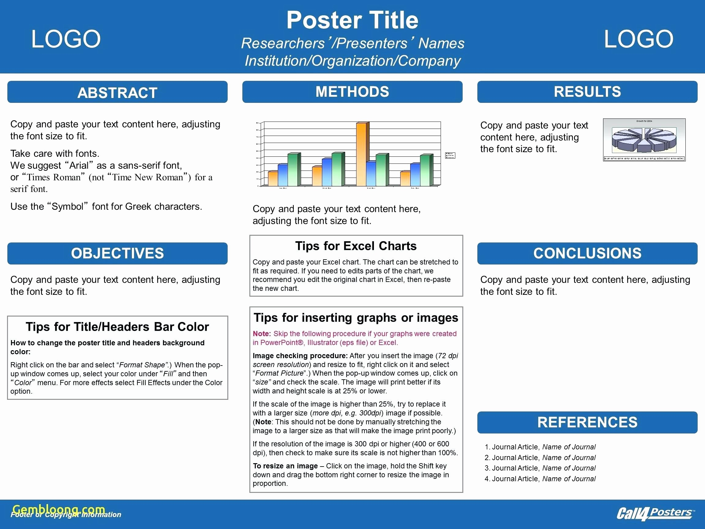 Research Poster Template for Powerpoint Lovely Template Powerpoint Template for Scientific Posters