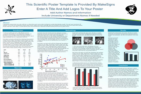 Research Poster Template for Powerpoint Luxury Scientfic Poster Powerpoint Templates