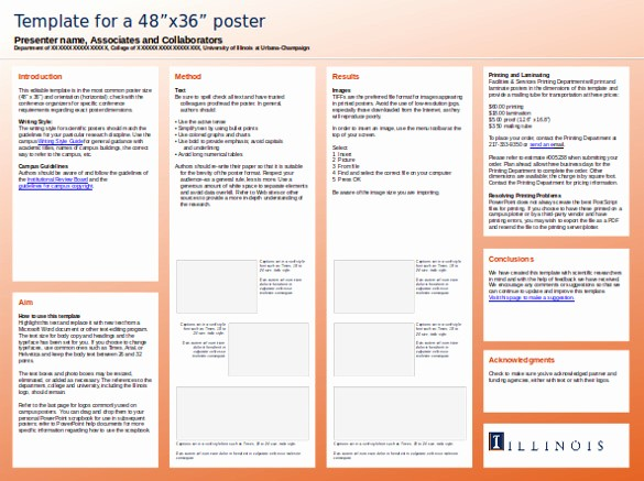 Research Poster Template for Powerpoint New 8 Powerpoint Poster Templates Ppt