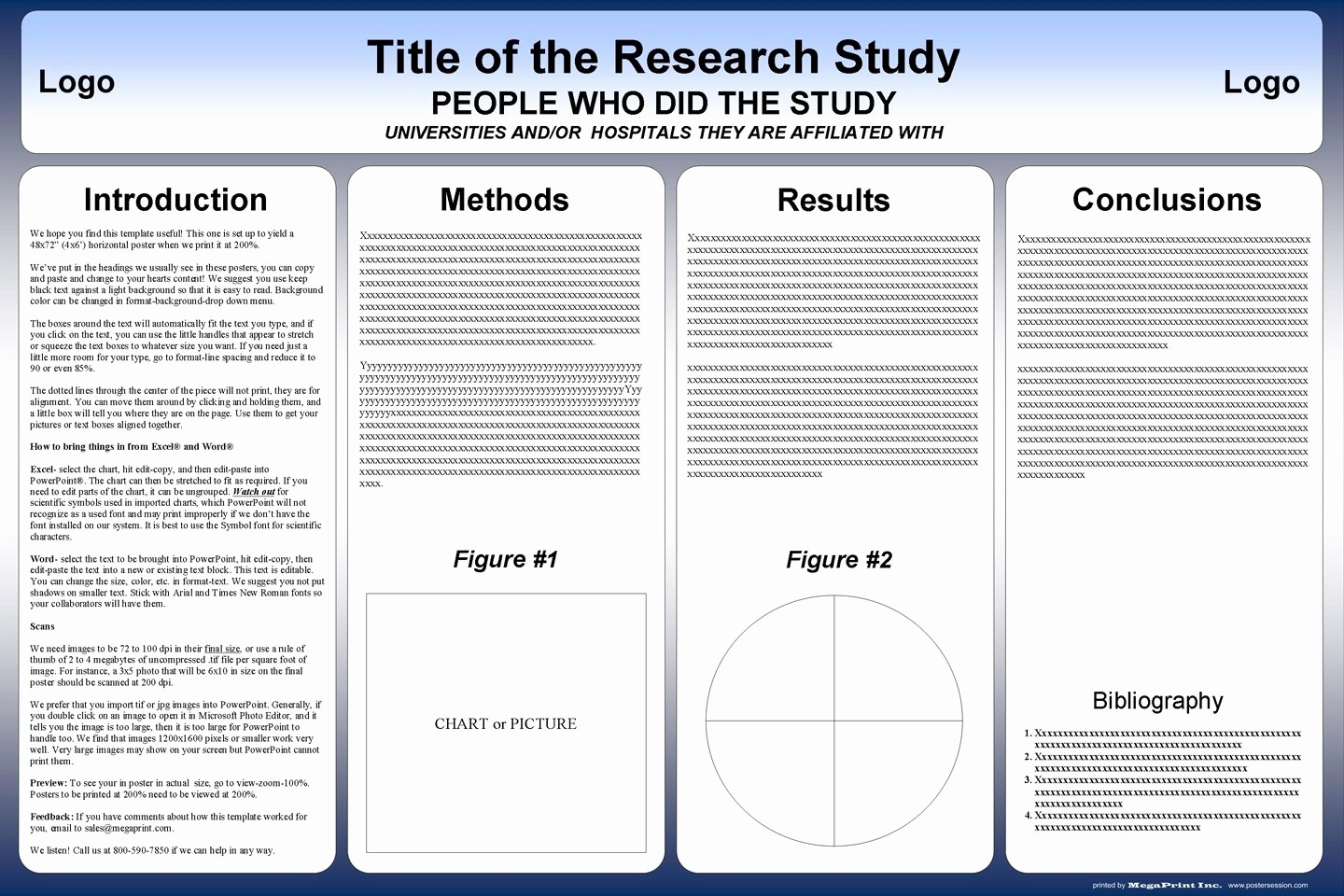 Research Poster Template for Powerpoint Unique Apa format Poster Presentation