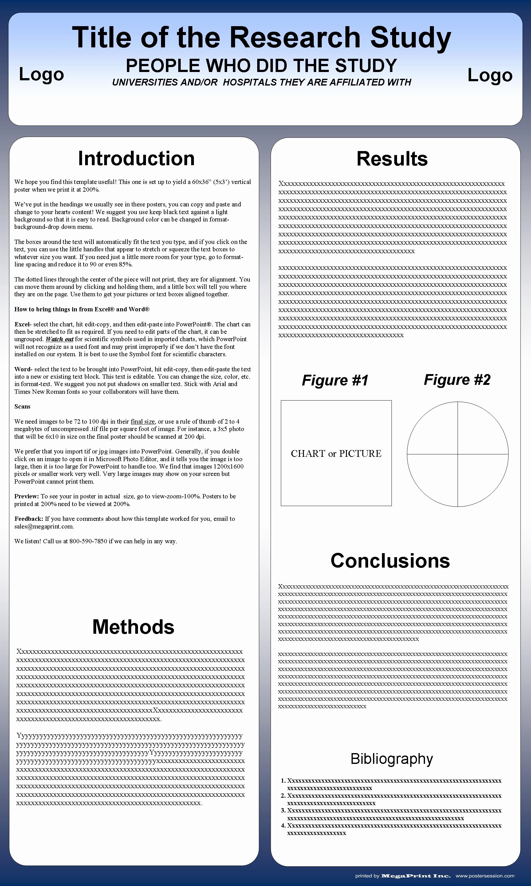 Research Poster Template for Powerpoint Unique Poster Templates You Can Change them