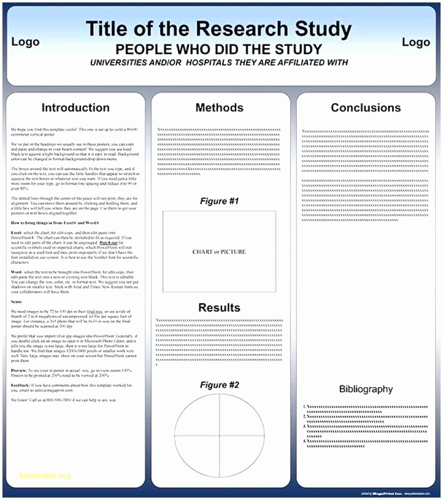 Research Poster Template for Powerpoint Unique Template Microsoft Powerpoint Poster Template