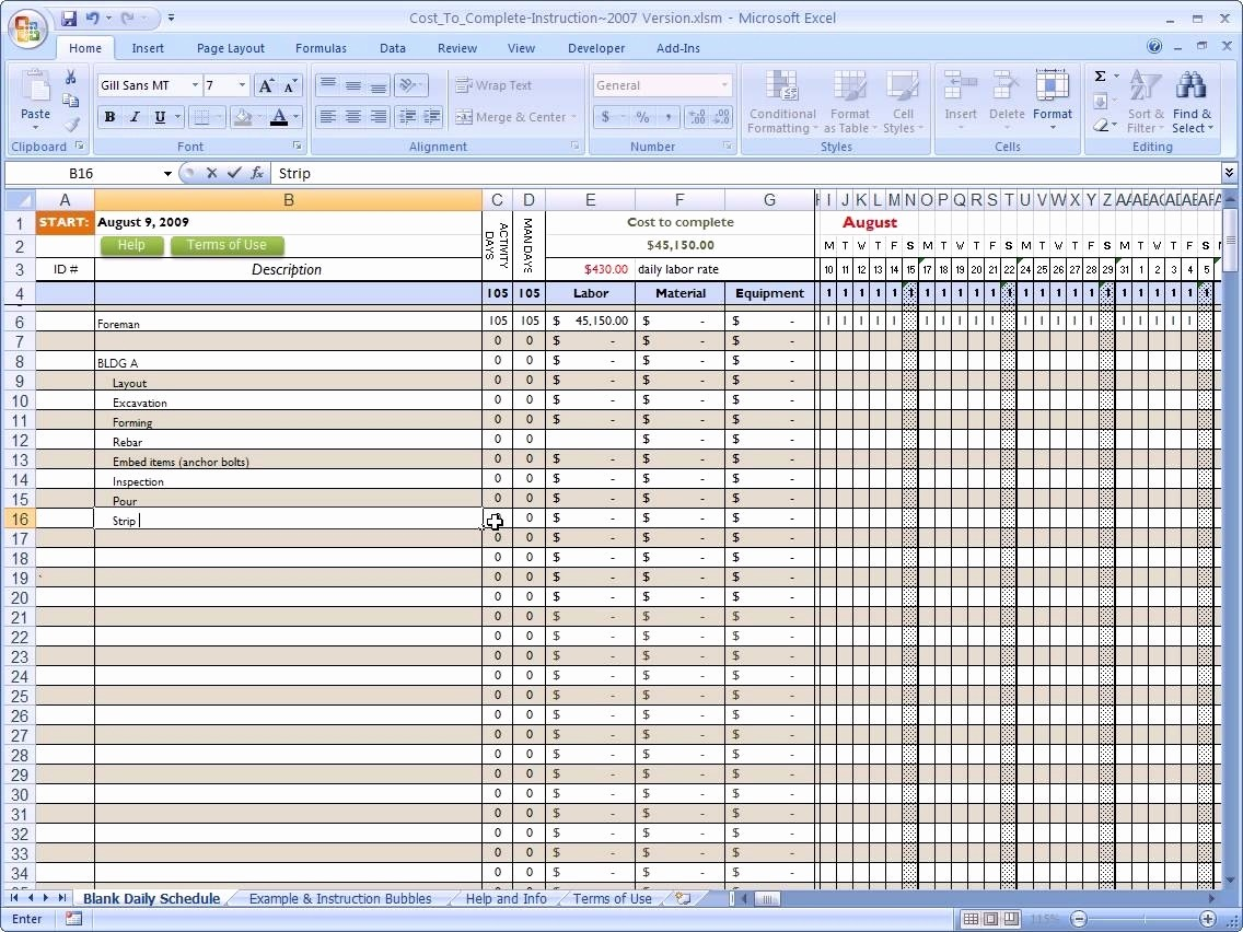 Residential Construction Cost Breakdown Excel Inspirational New Home Cost Breakdown Spreadsheet Inside Construction