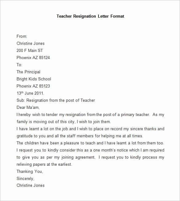 Resignation Letter Template Word Doc Lovely 69 Resignation Letter Template Word Pdf Ipages