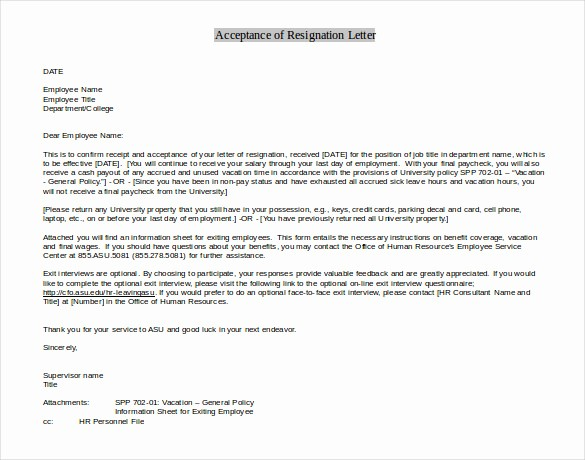 Resignation Letter Template Word Doc New 27 Resignation Letter Templates Free Word Excel Pdf