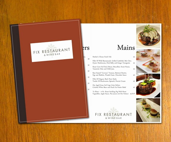 Restaurant Menu Template Free Download New 50 Free Psd Restaurant Flyer Menu Templates