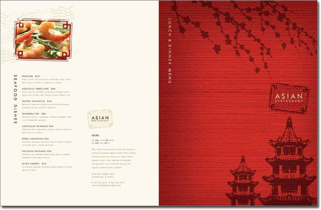 Restaurant Menu Template Microsoft Word Luxury 12 Best Chinese Food Restaurant Menu Templates