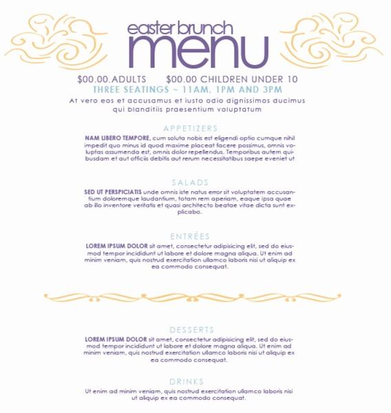 Restaurant Menu Templates Free Download Best Of Basic Menu Template Invitation Template