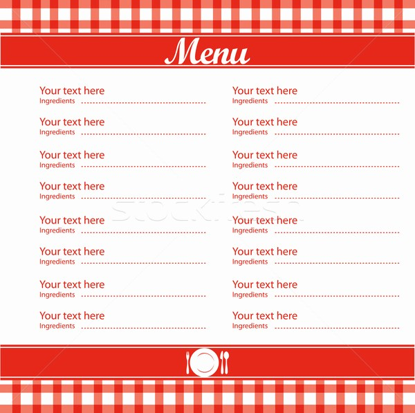 Restaurant Menu Templates Free Download Inspirational 5 Best Of Free Blank Printable Template Restaurant