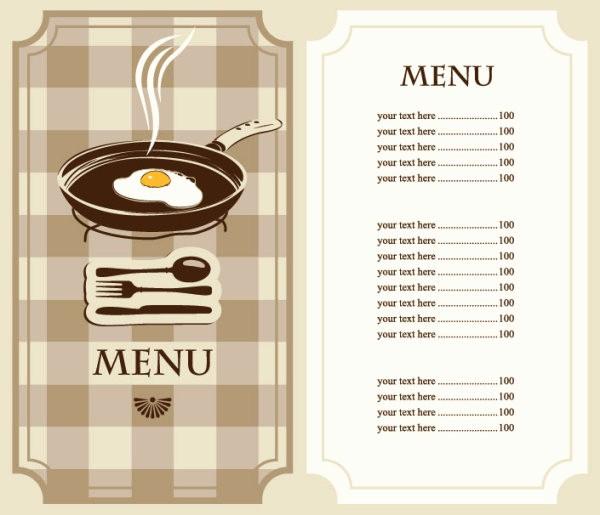 Restaurant Menu Templates Free Download Inspirational Set Of Cafe and Restaurant Menu Cover Template Vector 04