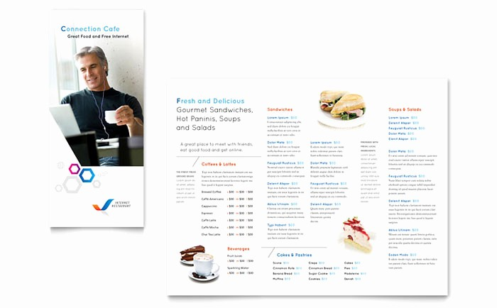 Restaurant Menu Templates Free Download Luxury Free Restaurant Menu Templates