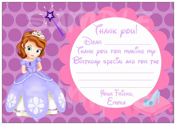 Restaurant P&l Template Awesome sofia the First Free Invitation Templates Download sofia