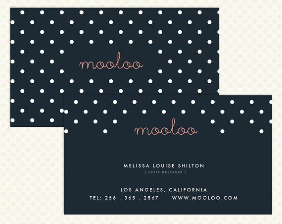 Restaurant P&l Template Elegant Polka Dot Business Card Templates Free New 52 Best