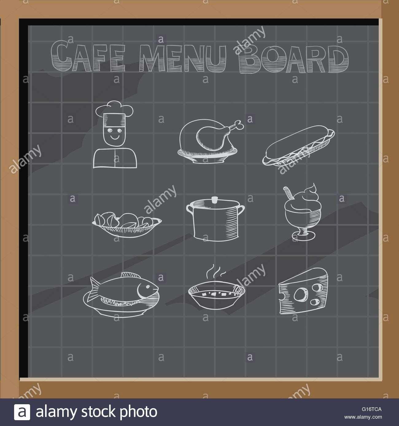 Restaurant P&l Template Fresh Digital Menu Board Design Templates Inspirational Chalk