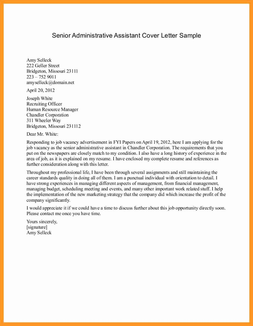 Resume and Cover Letter format Best Of Good Cover Letter Examples for Jobs