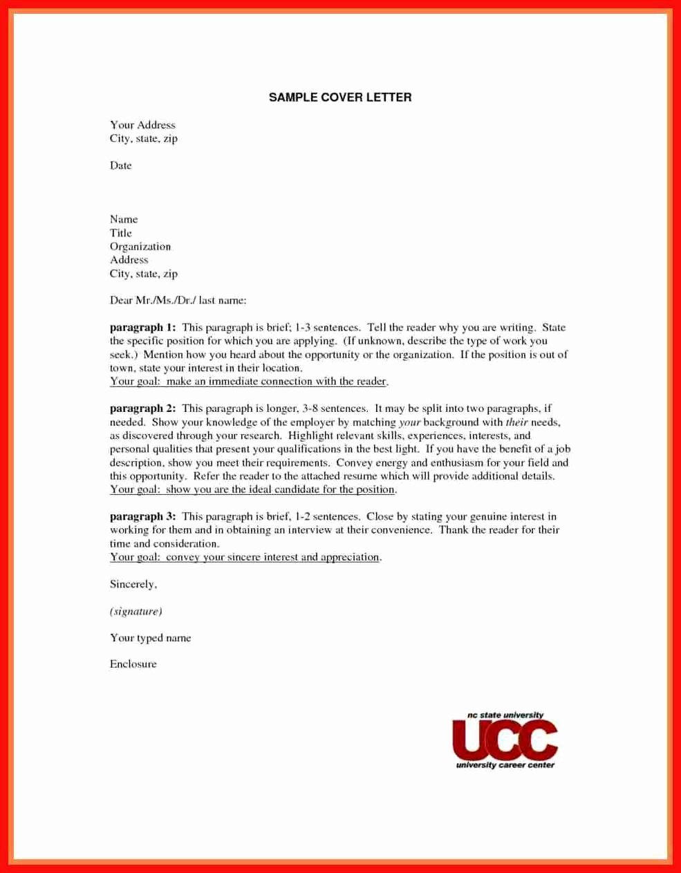 Resume and Cover Letter formats Beautiful Apa Cover Letter Template