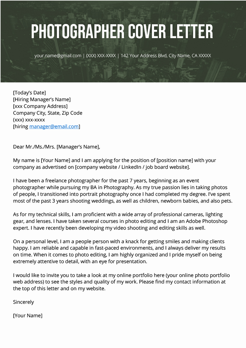 Resume and Cover Letter Template Lovely Grapher Cover Letter Example & Writing Tips