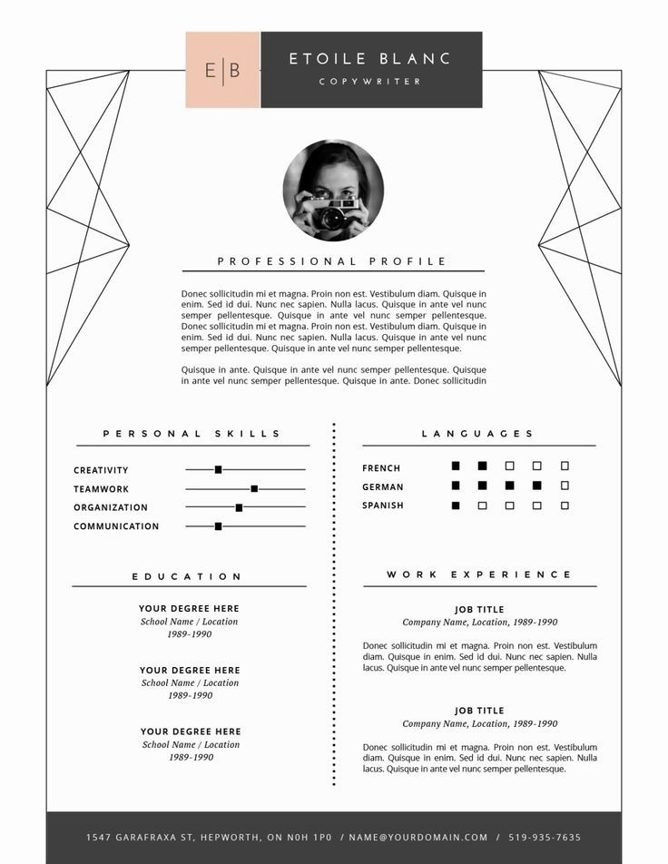 Resume and Cover Letter Templates Best Of Resume Cover Letter Template 2017