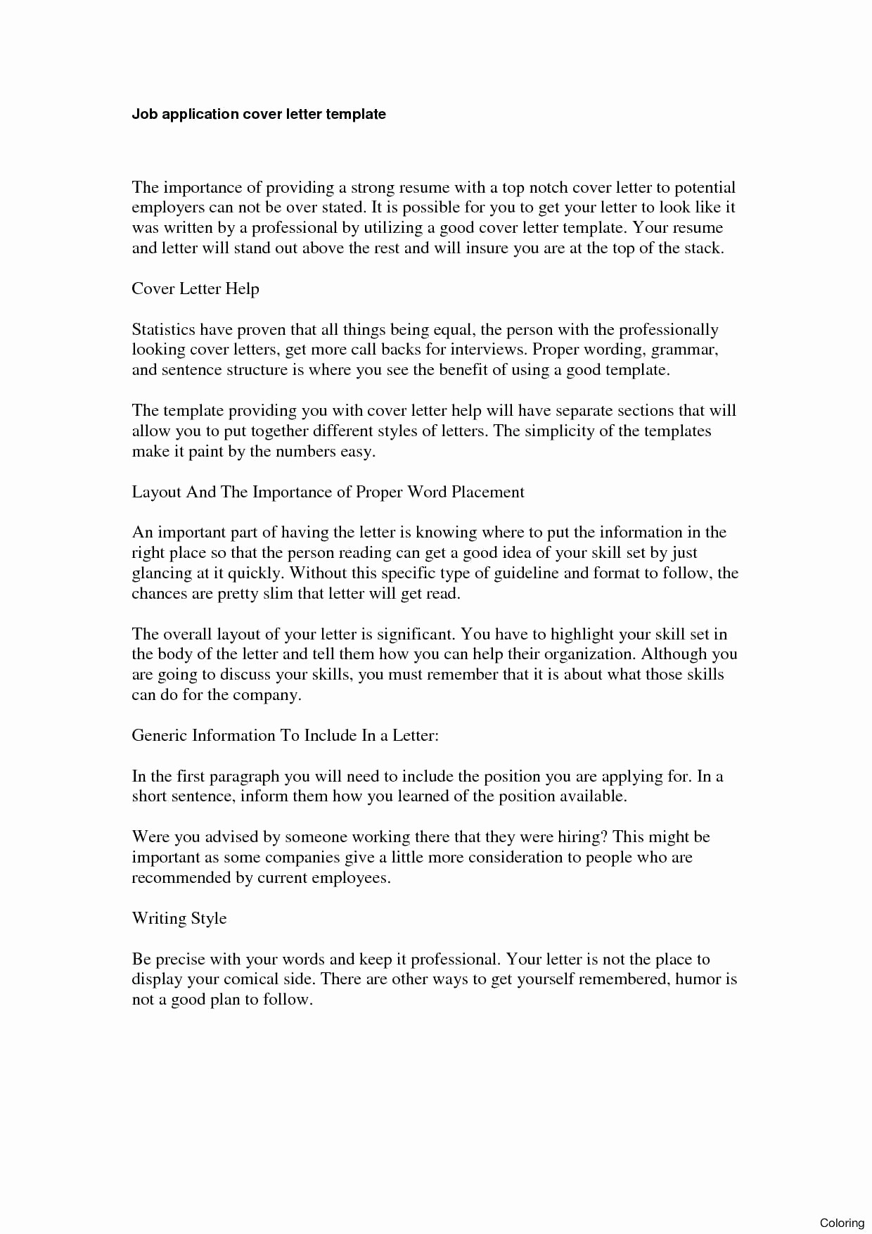 Resume Cover Letter Templates Word Best Of Template Application Cover Letter Template Word