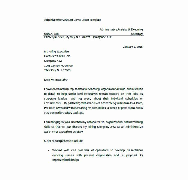 Resume Cover Letter Templates Word Unique Resume Cover Letter Templates to Secure Job Application