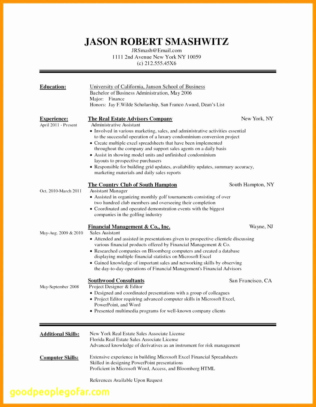 Resume Cover Letter Word Template Elegant Free Cover Letter Template Microsoft Word Samples