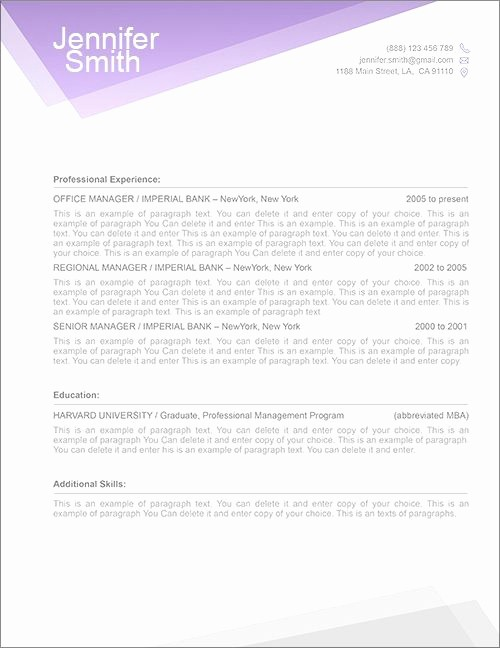 Resume Cover Letter Word Template Fresh Best 25 Resume Cover Letters Ideas On Pinterest