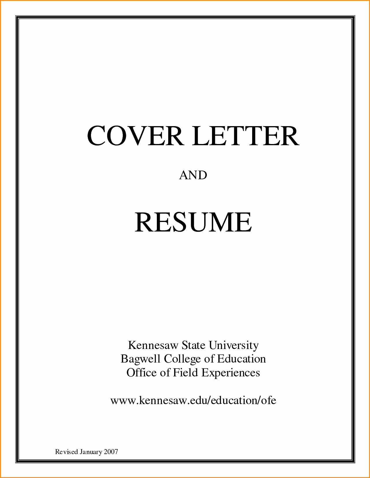 Resume Cover Page Template Free Beautiful 14 High School Cover Letter Template