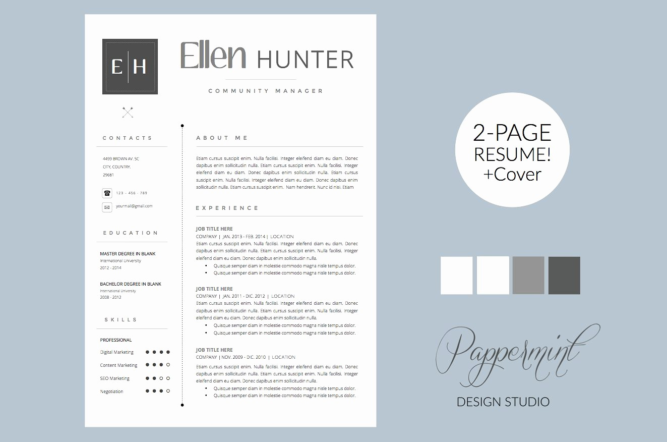 Resume Cover Page Template Free Luxury Resume Template Cover Letter Word Cover Letter