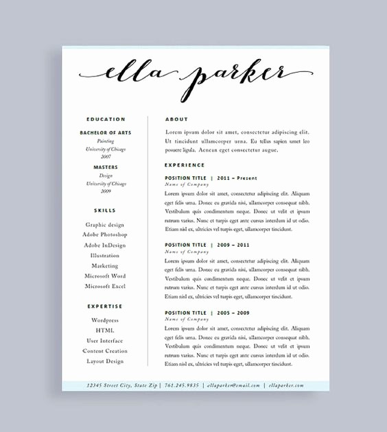 Resume Cover Page Template Word Luxury Pinterest • the World's Catalog Of Ideas