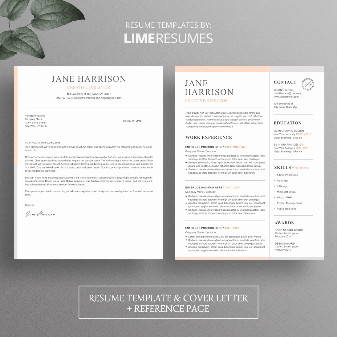 Resume Cover Page Template Word Luxury Resume Template Cover Letter Template for Word