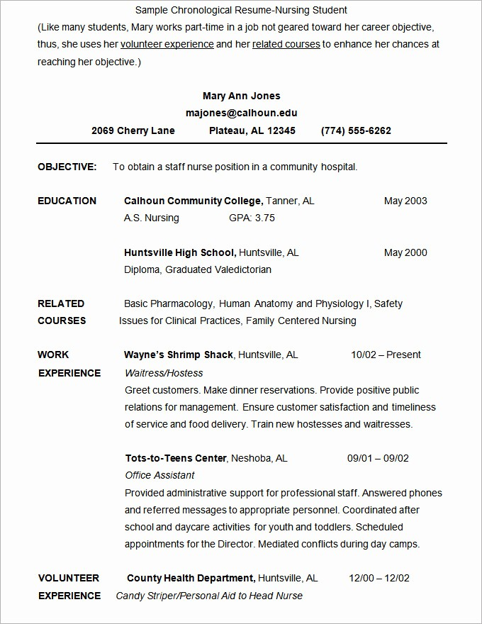 Resume Examples In Word format Unique Microsoft Word Resume Template 49 Free Samples
